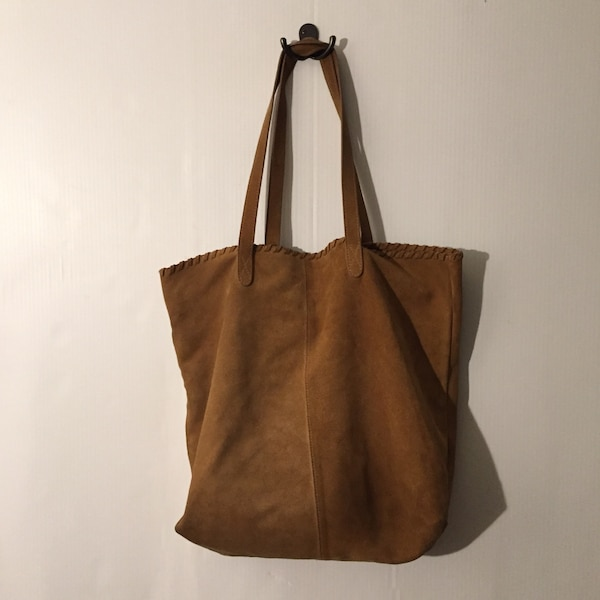 5dcb7ab561ec Used brown leather crossbody bag with fringe for sale in San Jose ...