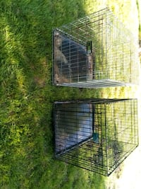 Two xl dog kennels  Roseville