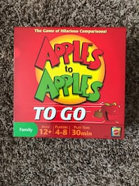 Apples to Apples TO GO Board Game Clarksville