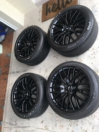 "Mustang wheels 19"" rims 5 lug performance Package  Ormond Beach, 32176"