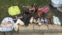 assorted pairs of shoes and sandals Burlington, L7P 3G2