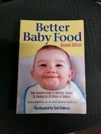 Better Baby Food book 2nd edition Toronto, M3J 1V8