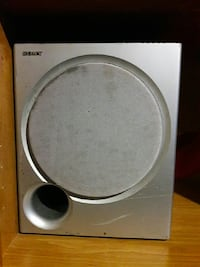 gray Sony bass media speaker Takoma Park