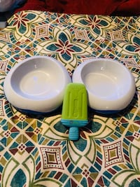 Freezable Pet Dishes & Toy