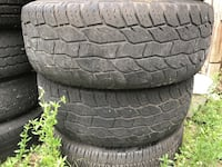two black rubber car tires Hollywood, 33024