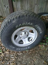 Jeep wheels and tires Pearl River, 70452