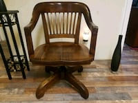 Unique rare antique solid wood office chair New  Columbia, 38401