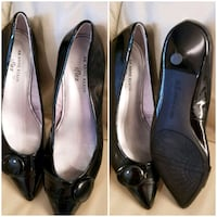 Like new sz 8 Anne Klein patent leather low heels  Ballwin, 63021