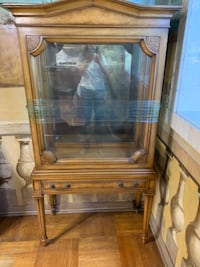 Antique glass cabinet Philadelphia
