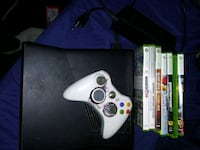 Xbox 360 plus games 250gb Downers Grove, 60515