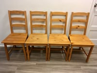 IKEA JOKKMOKK Chairs (4) with Antique Stain Arlington, 22202
