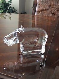 Orrefors Crystal (Animal Collection) Hippopotamus Coquitlam, V3B 6X6