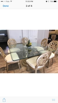 Table set with 8 chairs paid $6000 Hampstead, H3X 1L8