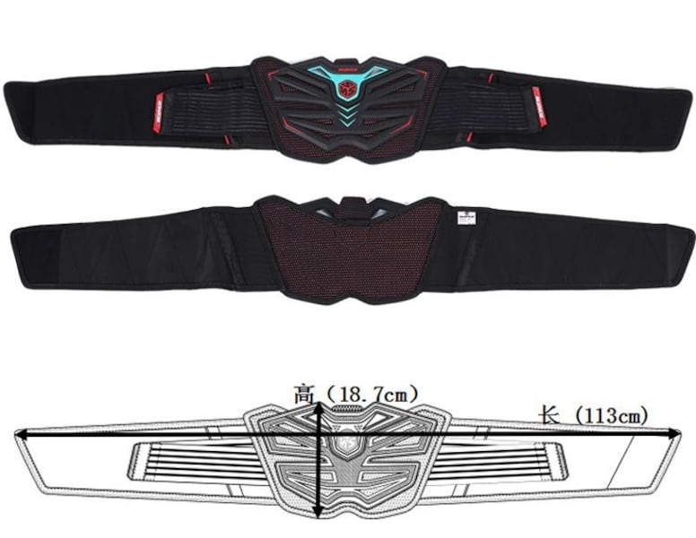 SCOYCO U11 Kidney Belt, Motocross Riding Waist Belt 54f8a5a9-019b-467a-a012-9e5d3478d226