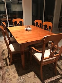 Dining table with 6 chairs dining set Bluffton, 29909