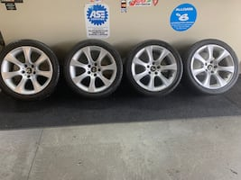 "BMW 5 Series 18"" rims & tires OEM"