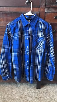 Boys, XXL, Faded Glory button up Marion, 52302