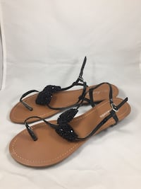 Brand new women's black bow sandals size 9 & 10 ONLY  Phoenix, 85007