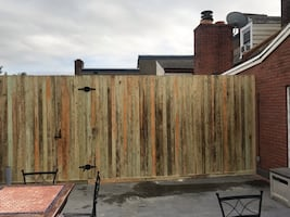 Pressure-Treated fences and gates