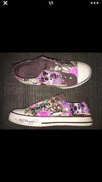Ed Hardy Never Worn Size 6 - Woman's Slip Ons $15 McDonough, 30253
