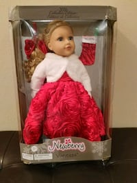 Barbie doll wearing red dress with box Columbus, 31901