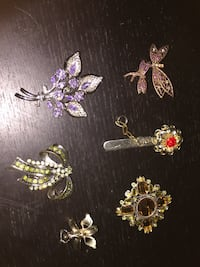 Old brooch collection  Toronto, M5N 2H7
