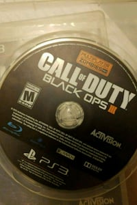 Call of Duty Black Ops 3 PS3 game disc Toronto, M1P 3J2