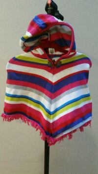 red, white, and blue striped polo shirt Kent, 98031