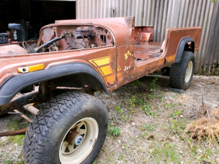 Photo Jeep scrambler bodies and frames