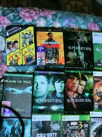 assorted Xbox 360 game cases Montgomery Village, 20886
