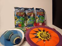 6 sets Bunch O Balloons; Water Frisbee;  Velcro Catch Toy Tampa
