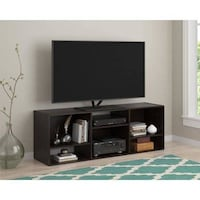 Nash Bookcase/TV Stand for TVs up to 60, Black - $75 Houston, 77092