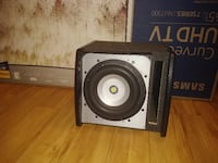 10inch woofer and box(slaps) Sacramento