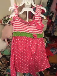 ABS designer 3t dress worn once