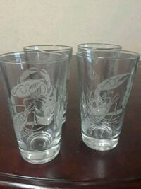 Collectable Red Lobster pint glasses
