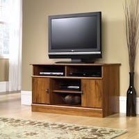 "TV Stand for TVs up to 42"", Abbey Oak Finish , SKU # 56164 2263 mi"