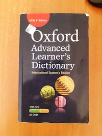 oxford advenced learners dictionary  ingilizceden  Bahçe, 33010