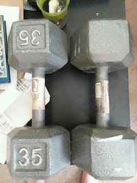 35 pound dumbbells Frederick, 21703