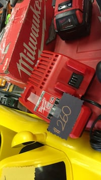 red and black Milwaukee cordless power drill East Chicago, 46312