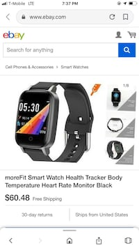MORE FIT FITNESS TRACKER