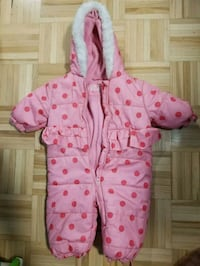 pink and white polka dot zip-up hoodie Toronto, M3L 2K4