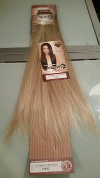 Sunset blonde hair extensions
