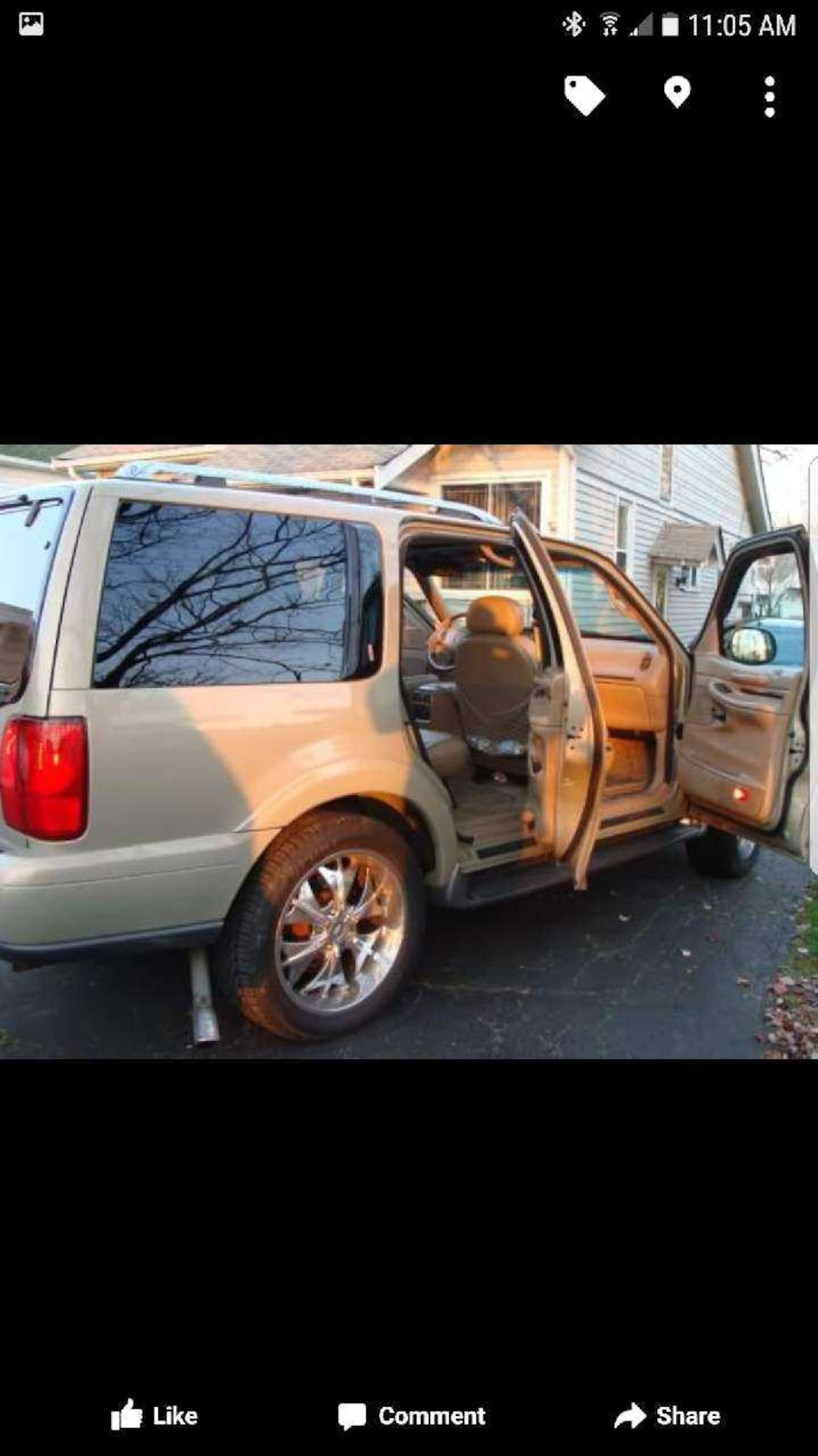 used 98 lincoln navigator obo in maple heights. Black Bedroom Furniture Sets. Home Design Ideas
