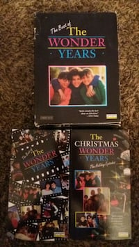 Used The Best Of The WONDER YEARS Holidays (VHS) for sale in Lewisville -  letgo