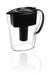 Brita Space Saver Water Filter Pitcher, Black, 6 Cup TORONTO
