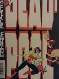 Dead Pool Marvel comic Smyrna, 30080