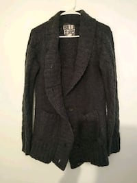 Knitted duster jacket
