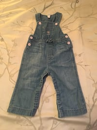 Girls 12-18 Month Baby Gap Overalls Calgary