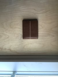 Brown Fossil leather bi-fold wallet Centreville, 20120