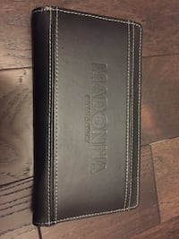 Madonna Leather Travel Wallet with passport holder Toronto, M2N 2H7